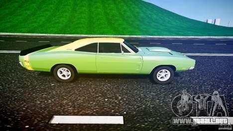 Dodge Charger RT 1969 tun v1.1 para GTA 4 left