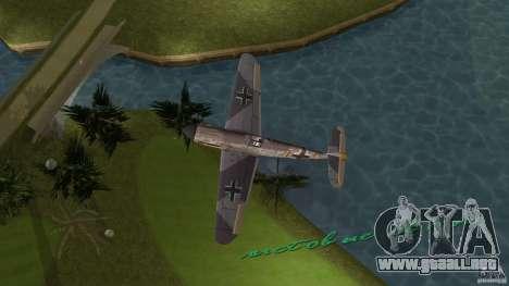 WW2 War Bomber para GTA Vice City vista lateral izquierdo