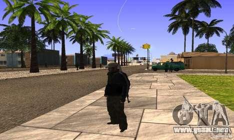 Grove Street v1.0 para GTA San Andreas quinta pantalla