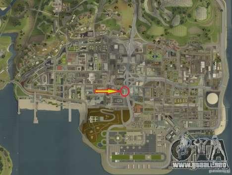 Fuerzas especiales-CJ para GTA San Andreas novena de pantalla