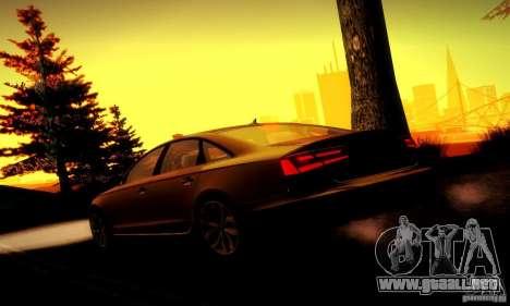 Audi A6 2012 para las ruedas de GTA San Andreas