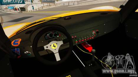 Ferrari F50 GT 1996 para GTA 4 vista hacia atrás