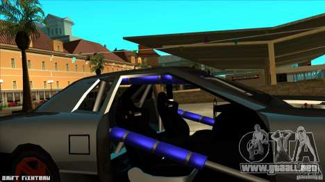 Elegy hard para GTA San Andreas vista hacia atrás