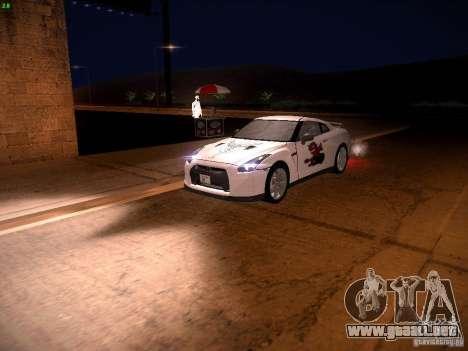 Nissan GT-R para las ruedas de GTA San Andreas