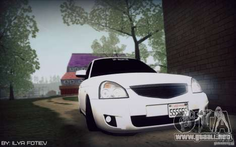 LADA 2170 California para GTA San Andreas