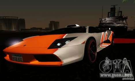 Lamborghini Murcielago para GTA San Andreas interior