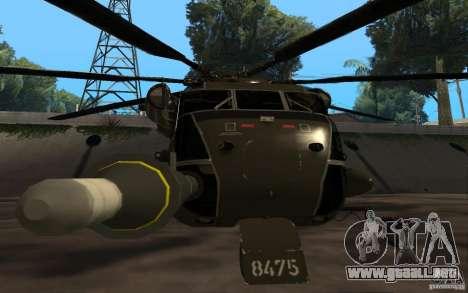 CH 53 para la visión correcta GTA San Andreas