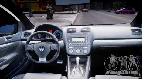Volkswagen Golf 5 GTI para GTA 4 vista superior