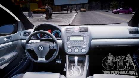 Volkswagen Golf 5 GTI para GTA 4 vista superior