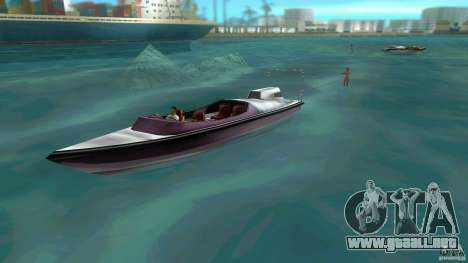 Ski Speeder para GTA Vice City left