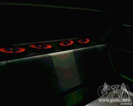 Tofas Dogan SLX DRIFT para la vista superior GTA San Andreas