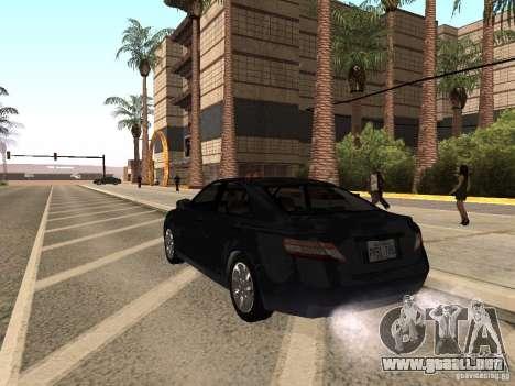 Toyota Camry 2010 para GTA San Andreas left