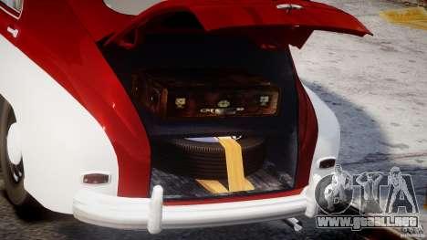 GAS M20V Victoria v.1.0 para GTA 4 vista hacia atrás