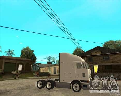 Navistar International 9800 para la visión correcta GTA San Andreas