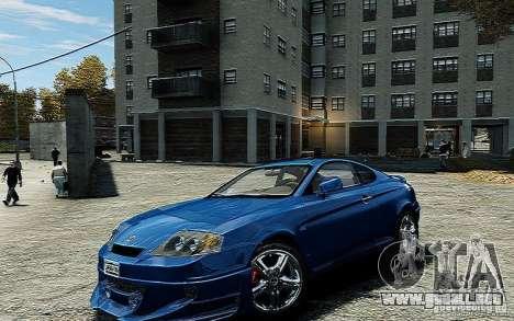Hyundai Tuscani para GTA 4 visión correcta