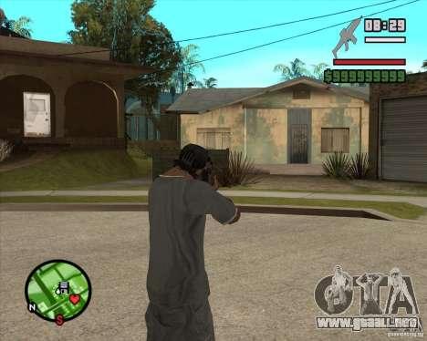 End Of Days: XM8 (HD) para GTA San Andreas tercera pantalla