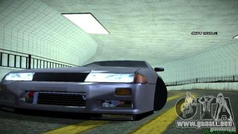 Elegy Skyline para GTA San Andreas vista hacia atrás