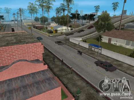Nuevo Groove Street para GTA San Andreas segunda pantalla