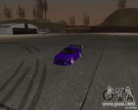 Nissan Silvia S13 Nismo tuned para vista lateral GTA San Andreas