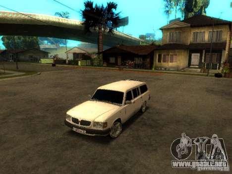 Versión GAZ VOLGA 310221 TUNING para GTA San Andreas left