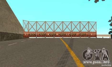 Welcome to AKINA Beta3 para GTA San Andreas sexta pantalla