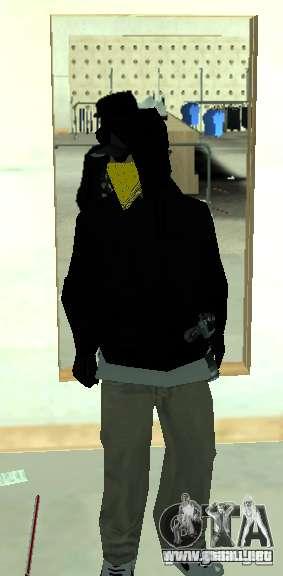 Vagos Gang Skins para GTA San Andreas sexta pantalla