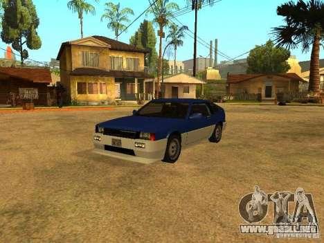 Desovar coches para GTA San Andreas sexta pantalla
