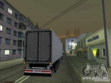 Remolque luces v3.0 para GTA San Andreas segunda pantalla
