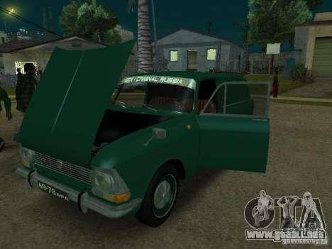 AZLK 434 para la visión correcta GTA San Andreas