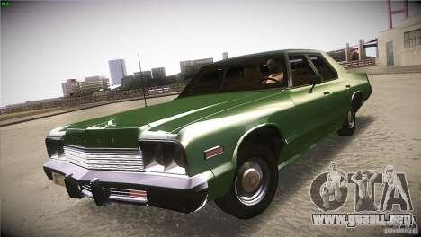 Dodge Monaco para la visión correcta GTA San Andreas