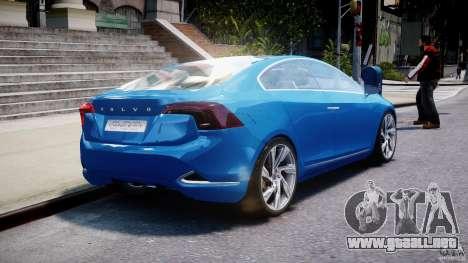 Volvo S60 Concept para GTA 4 vista lateral