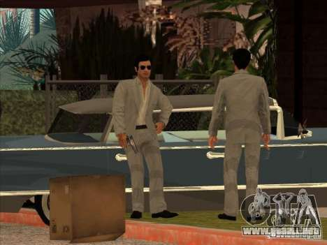 Vito Scaletta Made Man para GTA San Andreas tercera pantalla