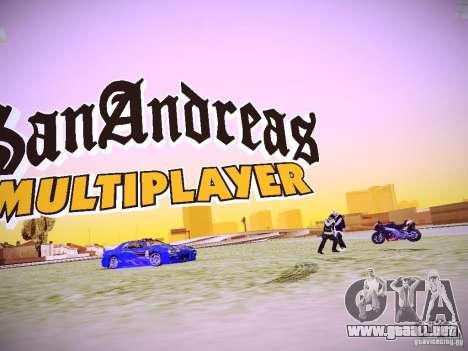 La posibilidad de reemplazar timecyc en SA: MP para GTA San Andreas tercera pantalla