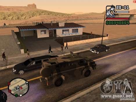 Australian Bushmaster para GTA San Andreas left