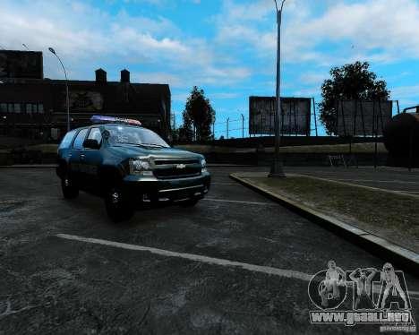Chevrolet Tahoe Hungarian Vam-Zoll Custom para GTA 4
