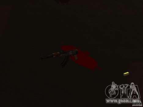 Pak versión doméstica armas 2 para GTA San Andreas sucesivamente de pantalla