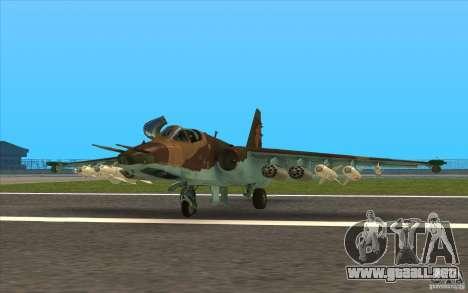 El Su-25 para GTA San Andreas left