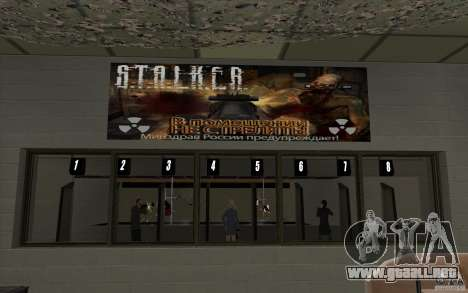 Tienda de armas e. k. S. T. A. L. R para GTA San Andreas séptima pantalla