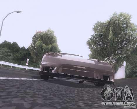 Honda NSX Japan Drift para GTA San Andreas vista hacia atrás