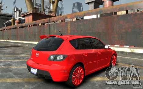 Mazda 3 para GTA 4 visión correcta