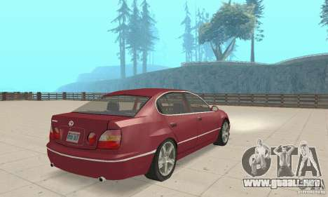 Lexus GS430 1999 para GTA San Andreas left