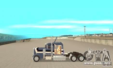 Peterbilt 359 para GTA San Andreas left