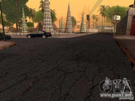 Nuevos caminos en la calle Grove para GTA San Andreas sucesivamente de pantalla