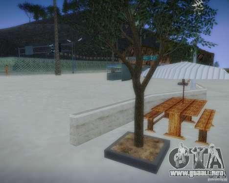 Nuevos patrones de ocio para GTA San Andreas quinta pantalla