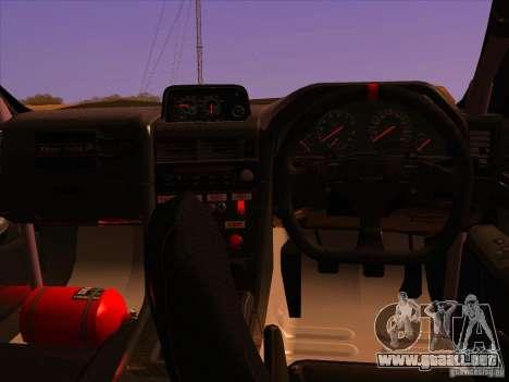 Nissan Skyline R34 Tunable para las ruedas de GTA San Andreas