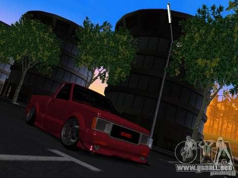 GMC Syclone Drift para la visión correcta GTA San Andreas