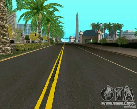 GTA 4 Road Las Venturas para GTA San Andreas sucesivamente de pantalla
