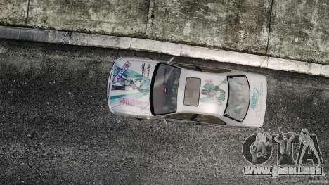 Nissan Laurel GC35 Itasha para GTA 4 visión correcta