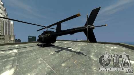 Helicopter Generation-GTA para GTA 4 Vista posterior izquierda