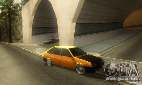 VAZ 2109 luz Tuning para GTA San Andreas
